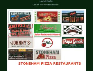 stonehampizza.com screenshot