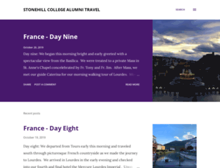 stonehillalumnitravel.blogspot.co.nz screenshot
