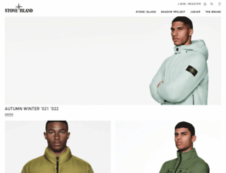 stoneisland.co.uk screenshot