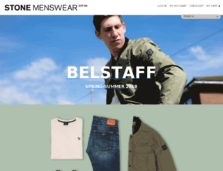 stonemenswear.co.uk screenshot