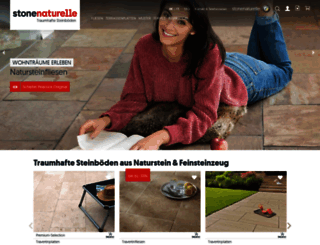 stonenaturelle.ch screenshot
