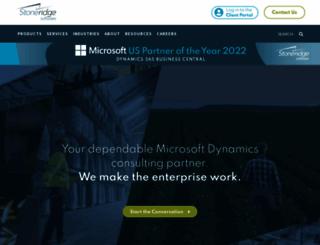 stoneridgesoftware.com screenshot
