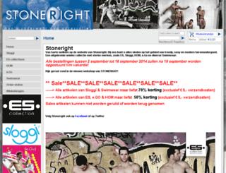 stoneright.nl screenshot
