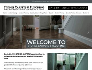 stonescarpets.com screenshot