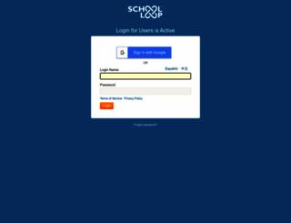 stonevalley.schoolloop.com screenshot