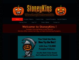 stoneykins.com screenshot