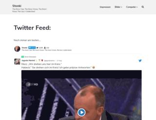 stonki.de screenshot
