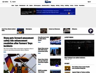 stonyplainreporter.com screenshot