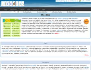 stoodius.com screenshot