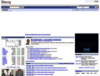 stooq.com screenshot
