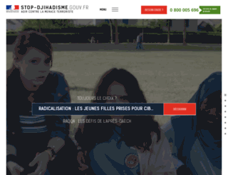 stop-djihadisme.gouv.fr screenshot