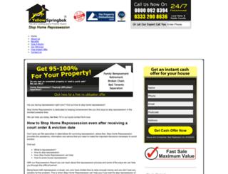 stop-home-repossession.co.uk screenshot