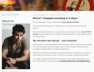 stopcigarettesblog.info screenshot