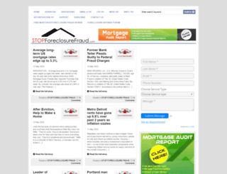 stopforeclosurefraud.com screenshot