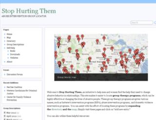 stophurtingthem.com screenshot