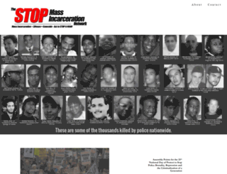 stopmassincarceration.net screenshot
