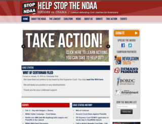 stopndaa.org screenshot