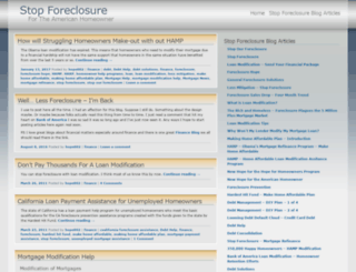 stopourforeclosure.wordpress.com screenshot