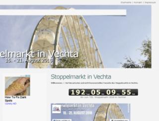 stoppelmarkt-vec.de screenshot