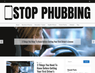 stopphubbing.com screenshot