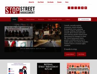 stopstreetharassment.org screenshot
