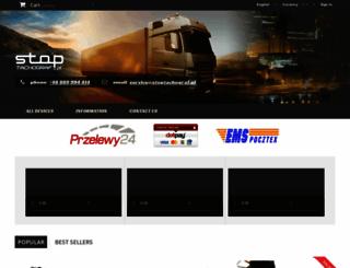 stoptachograf.pl screenshot