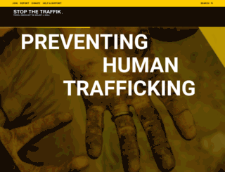 stopthetraffik.org screenshot