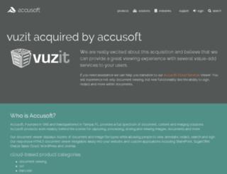storage.vuzit.com screenshot