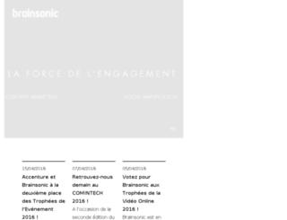 storage02.brainsonic.com screenshot