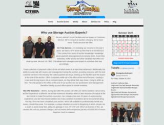 storageauctionexperts.com screenshot