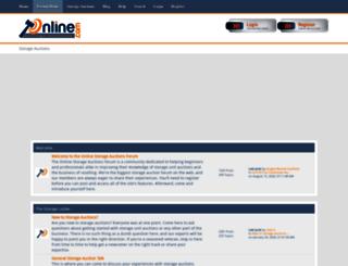 storageauctionforums.com screenshot