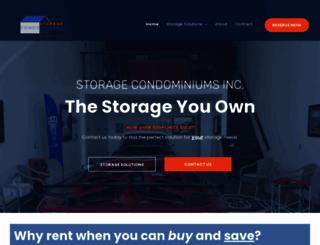 storagecondos.com screenshot