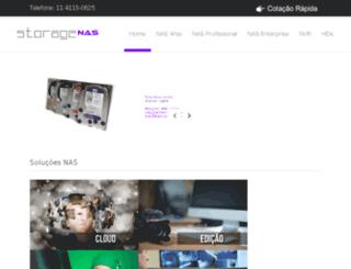 storagenas.com.br screenshot
