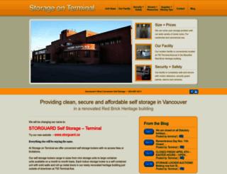 storageonterminal.com screenshot