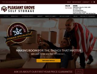 storageroseville.com screenshot