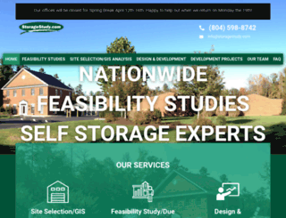storagestudy.com screenshot
