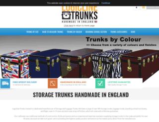 storagetrunks.co.uk screenshot