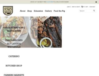 store.4505meats.com screenshot