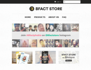 store.8fact.com screenshot