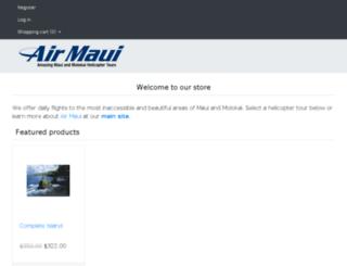store.airmaui.com screenshot