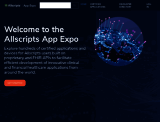 store.allscripts.com screenshot