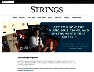 store.allthingsstrings.com screenshot