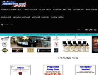 store.americanpurevapor.com screenshot