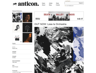 store.anticon.com screenshot