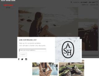 store.ashfootwearusa.com screenshot