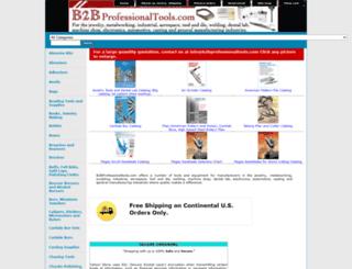 store.b2bprofessionaltools.com screenshot