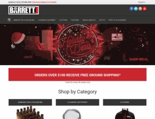 store.barrett.net screenshot