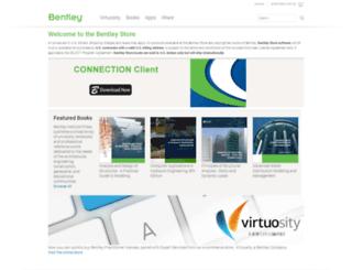 store.bentley.com screenshot