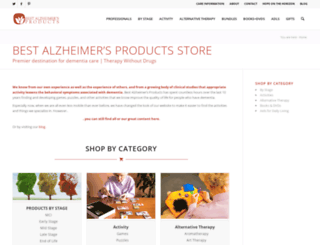 store.best-alzheimers-products.com screenshot