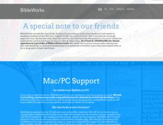 store.bibleworks.com screenshot